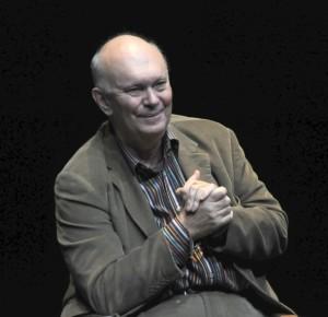 Playwright Alan Ayckbourn