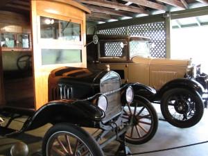 Thomas Edison's Cars at Seminole Lodge