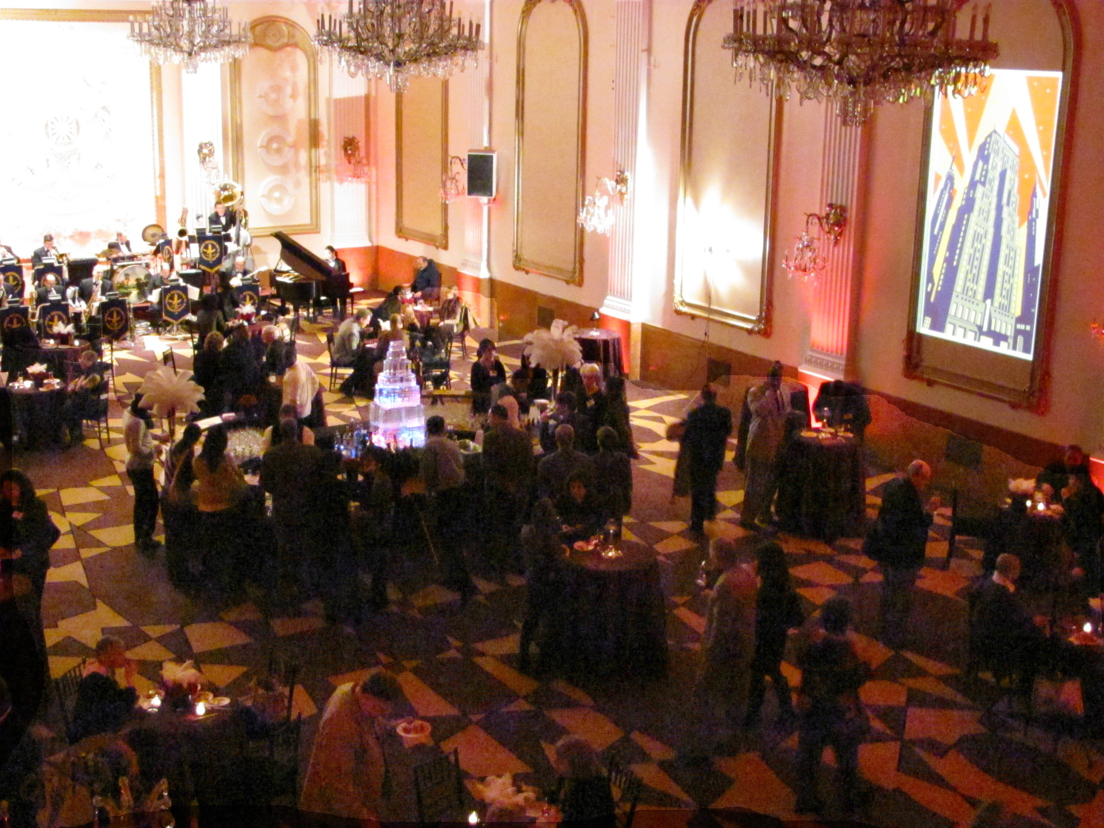 ... 1930s-style bash that featured the big band music of Vince Giordano and ...
