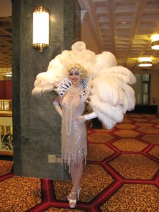 Hotel New Yorker flapper