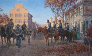 Mort Kunstler's Lion of the Valley-Jackson in Winchester Virginia, 2008