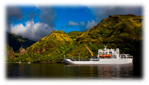 Aranui III celebrates 10 years sailing through remote Marquesas Islands in French Polynesia (photo credit - Danee Hazama & Julien Avrial)
