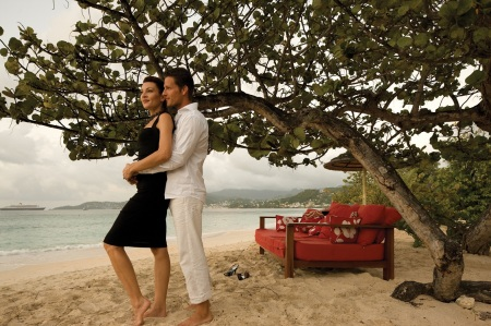 Award-winning, all-inclusive Spice Island Beach Resort in Grenada is offering  Valentine's Day gift certificates  featuring complimentary couples massage, romantic sunset cruise and dinner for two on the beach  and seventh night free, valid for travel April 16 - Oct. 31, 2013.
