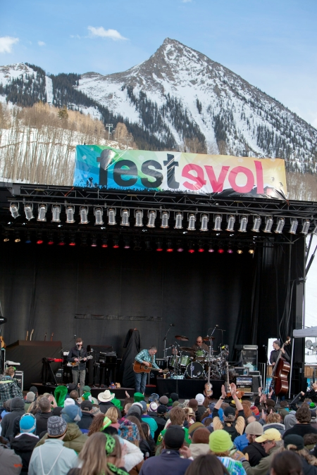 In its fourth year at Crested Butte Mountain Resort, FestEVOL showcases great live music, spring skiing and riding, and all-natural foods.