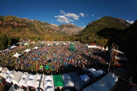The Telluride Blues & Brews is a three-day celebration of music and microbrews tucked in the mountains, and surrounded by breathtaking 13,000 foot peaks as a backdrop (photo by Barry Brecheisen).