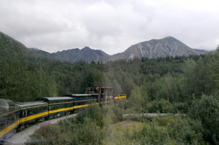 A train trip through Alaska's Denali National Park  © 2013 Karen Rubin/news-photos-features.com