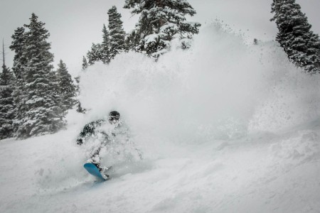 Aspen, Colorado, shows off its abundant snow that will greet early season skiers and snowboarders.
