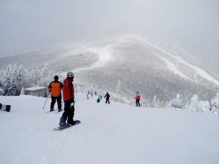 Feel like an Olympian as you ski down Whiteface Mountain, in New York's Adirondacks, where the Winter Olympics of 1932 and 1980 were held and which has sent athletes to every Olympics in the modern era © 2013 Karen Rubin/news-photos-features.com
