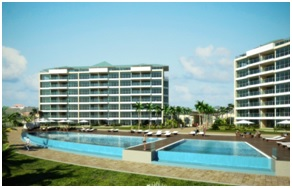 Blue Residences, an upscale condominium resort, opens March 1, 2014 on Aruba's Eagle Beach, frequently listed as one of the top 10 beaches in the Caribbean.