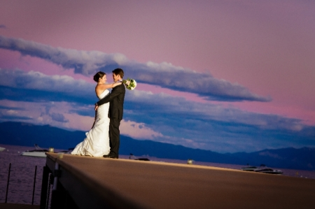 North Lake Tahoe offers some of the most stunning wedding venues in the country.