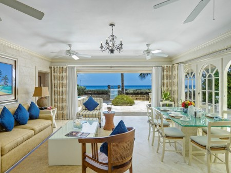 Leamington Cottage in Barbados is one of the five most romantic places for a villa vacation.