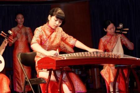 Highlights of the onboard Victoria Cruises experience include cultural entertainment.