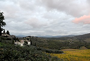 Tuscany Wine and Bike itineraries offer a triple helping of understanding the wine, land and history of Tuscany while experiencing the beauty of an outdoor excursion © 2014 Karen Rubin/news-photos-features.com