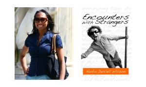 "Nubia DuVall Wilson and her book, ""Encounters With Strangers"" are featured at the Therapy Wine Bar, Brooklyn, May 20."