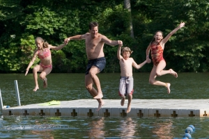 Wintergreen Resort is a marvelous place for summer family vacation.