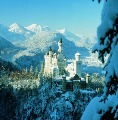 Neuschwanstein Palace in winter © BAYERN TOURISMUS Marketing GmbH