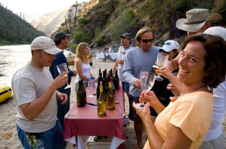 O.A.R.S.' Wine on the River Series pairs vineyards and gourmet presentations with multi-day rafting expeditions.
