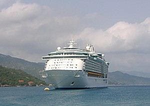 Royal Caribbean's Liberty of the Seas at Labadee © 2014 Karen Rubin/news-photos-features.com