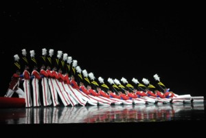 """The Radio City Rockettes will perform beloved numbers such as """"Parade of the Wooden Soldiers,"""" a tradition since the Christmas Spectacular's inception in 1933, at the 2014 edition of the Christmas Spectacular, at the Grand Ole Opry House, Nashville © 2014 Karen Rubin/news-photos-features.com"""
