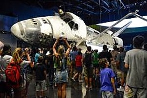 """Kennedy Space Center Visitor Complex celebrates """"Holidays in Space."""""""