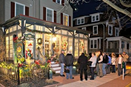 41st Cape May Christmas Candlelight House Tour, taking place Dec. 6, 13 & 27, displays America's largest collection of historic Victorian structures dressed in holiday finery. The self-guided tours will feature at least a dozen homes, inns, hotels and churches each evening.