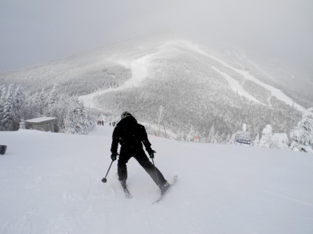 Feel like an Olympian when you ski Whiteface. Take advantage of the New York Ski Three season pass which gives access, specials and perks to Whiteface, Gore and Belleayre © 2014 Karen Rubin/news-photos-features.com