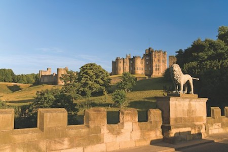 "Alnwick Castle in England's Northumberland, which will take a leading role in a special Christmas episode of ""Downton Abbey,"" highlights a new 2015 Wayfarers Walking Vacations trip."