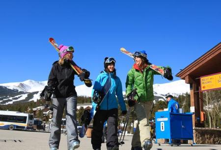 Breckenridge, Colorado is debuting five new women's ski school programs this season