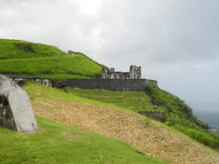 Brimstone Hill Fortress is one of the breathtaking attractions that can be explored on St. Kitts © 2015 Karen Rubin/news-photos-features.com
