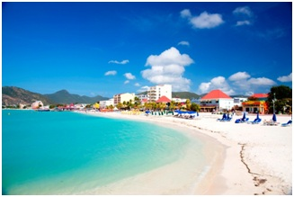 """The romantic island of St. Maarten/St. Martin has been named in the Top 10 of the """"Best Romantic Caribbean Island"""" by USA Today's 10Best Readers' Choice Awards"""