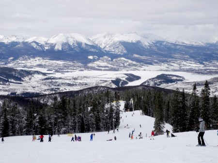 Spring skiing at Keystone, Colorado offers best of all worlds - great snow, long days, warm weather, and discounted rates © 2015 Karen Rubin/news-photos-features.com
