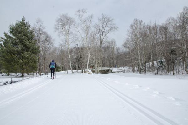 Snowshoe skiing report in new york