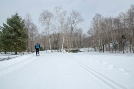 Conditions are simply perfect for cross country, snowshoeing or whatever you choose at Great Glen!