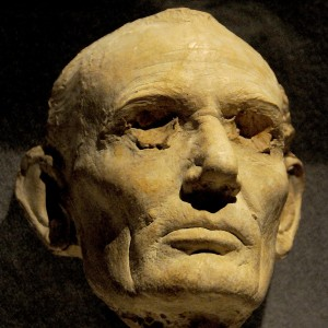 A mask of Abraham Lincoln's visage was made just before his death © 2015 Karen Rubin/news-photos-features.com