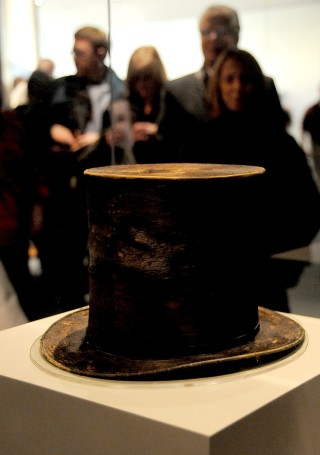 President Abraham Lincoln's stovepipe hat © 2015 Karen Rubin/news-photos-features.com