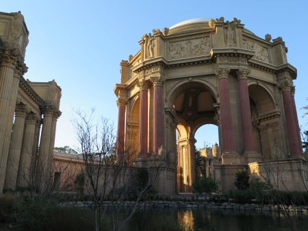 The Palace of Fine Arts is one of the unexpected cultural treasures of San Francisco © 2015 Karen Rubin/news-photos-features.com