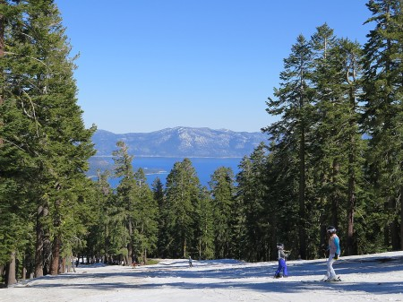 The view of Lake Tahoe from the slopes of Northstar Ski Resort, California, a Vail Resort. Vail Resorts' Epic Pass provides unlimited skiing to a dozen resorts The view of Lake Tahoe from the slopes of Northstar Ski Resort, California, a Vail Resort. Vail Resorts' Epic Pass provides unlimited skiing to a dozen resorts © 2015 Karen Rubin/news-photos-features.com
