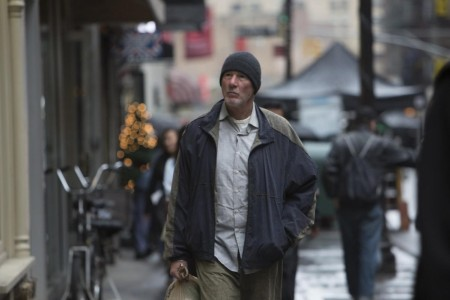 Richard Gere portrays a homeless man in 'Time Out of Mind,' which will be presented by the Gold Coast International Film Festival on Sept. 24.