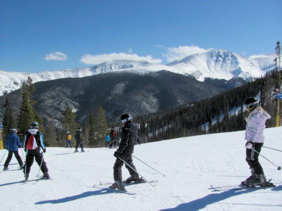 Learn to Ski in Winter Park, Colorado © 2015 Karen Rubin/news-photos-features.com