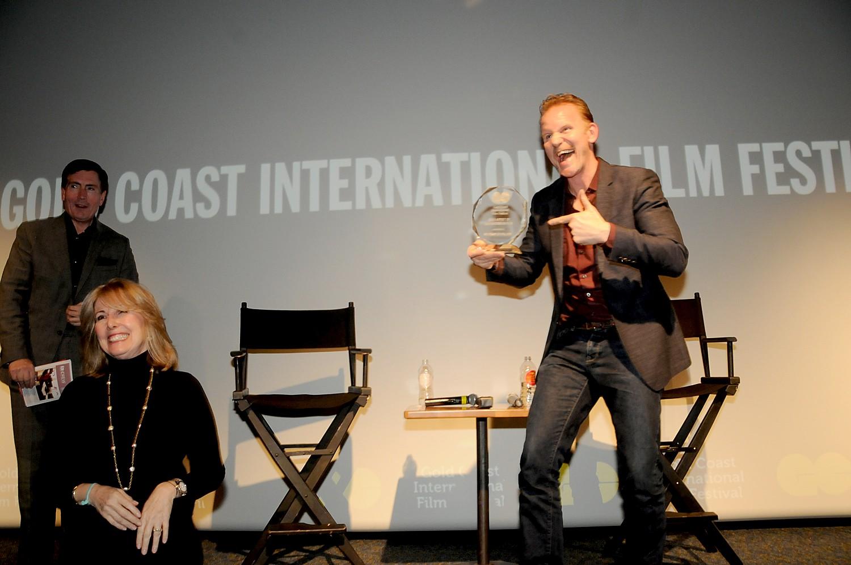 Filmmaker Morgan Spurlock at 2015 Gold Coast International Film